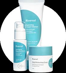 Riversol cosmetics - anti-aging-trio