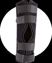 Sports braces - knee-immobilizers