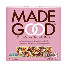 specialty candies - made good bars
